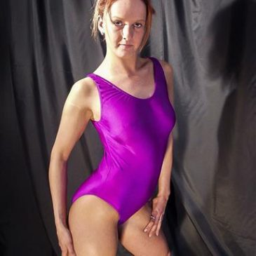 Nadine – Pink Spandex Leotard