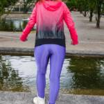 Purple Spandex Catsuit