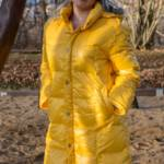 Yellow downcoat - Fanny by Pamy